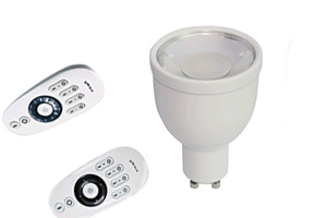 CCT Adjustable GU10 LED Bulb