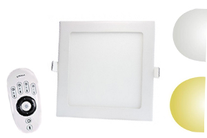 CCT Adjustable Square LED Panel