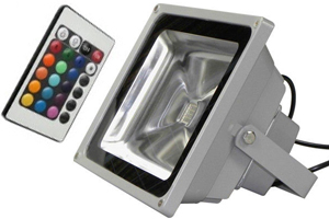20W RGB LED Flood Light
