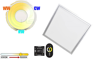 12W 200x200mm Dual White LED Panel Light