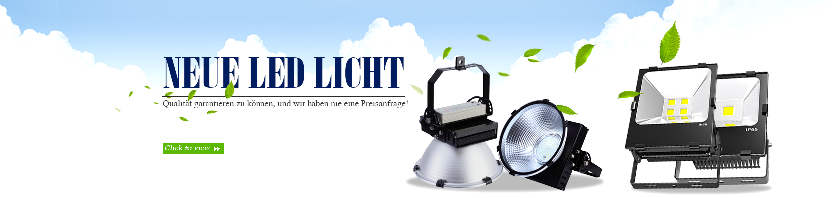 LED-Hallentiefstrahler, LED Fluter