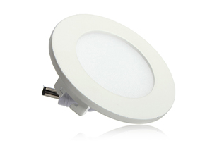 90x14mm 3W Round LED Panel Light