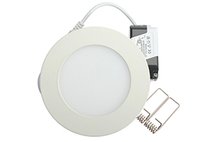 120x14mm 6W Round LED Panel Light