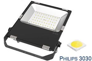 50W Stadium Philips chip Ultra Slim LED Flood Lights