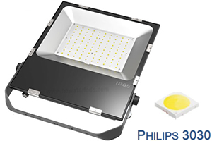 100W 5 years warranty Philips chip Ultra Slim LED Flood Lights