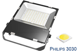 150W Stadium Philips chip Ultra Slim LED Flood Lights
