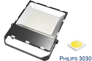 200W Tennis court Philips chip Ultra Slim LED Flood Lights