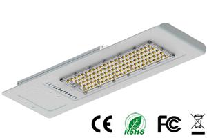 120W Outdoor Luminaire Integrated LED Street lights