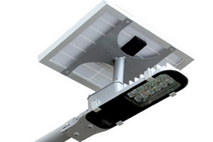 10W Solar Power Integrated LED Street lights