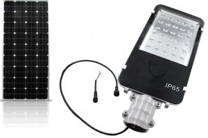 Solar Photovoltaic 30W Integrated LED Street lights